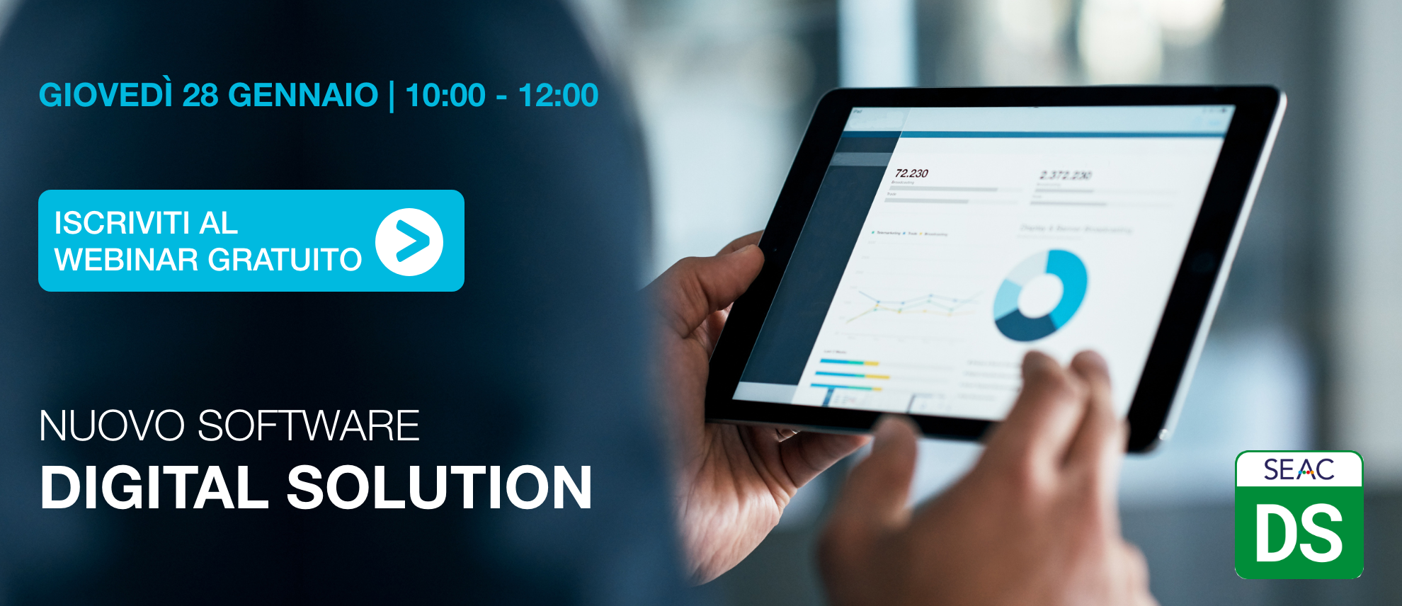 Digital Solution Webinar Gratuito